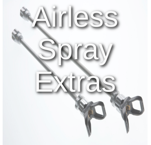 airless spray gun accessories extensions oil spray sheild essentials 5
